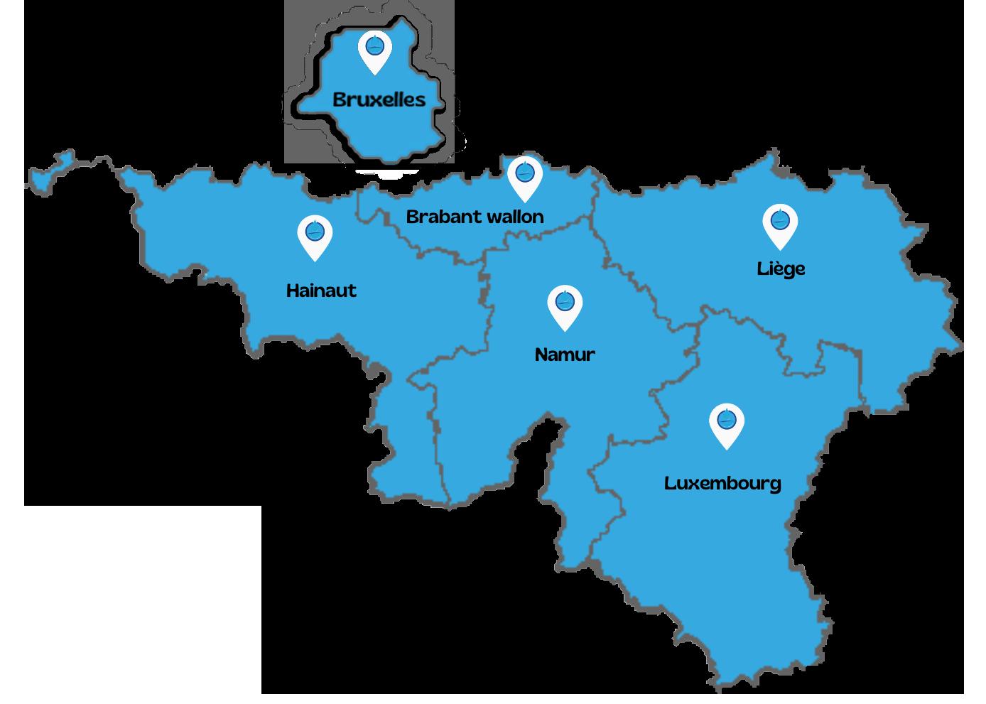 Débouchage et vidange fosse septique sur Bruxelles et Wallonie